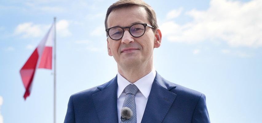 """Morawiecki obiecał to Białorusince, która boi się powrotu do swego kraju. Padły słowa o """"prześladowanych przez reżimy"""""""