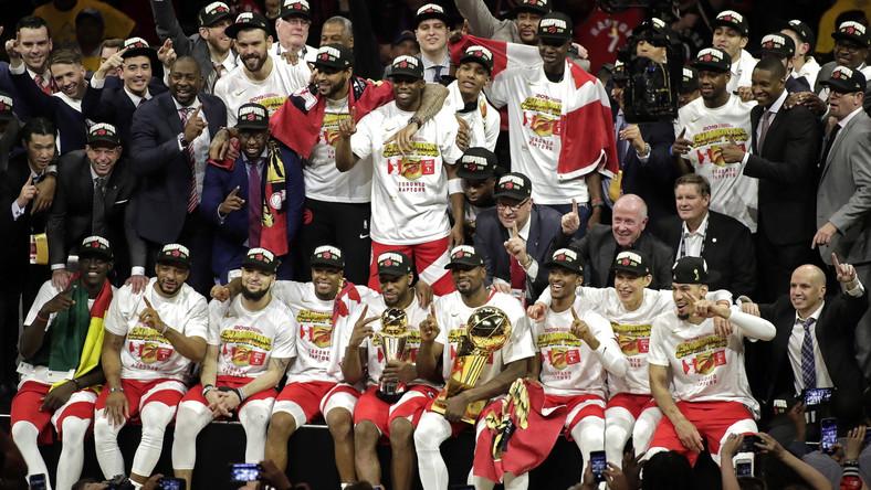 Koszykarze Toronto Raptors