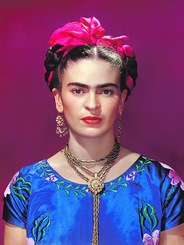 Frida Kalo u plavoj haljini, 1939.