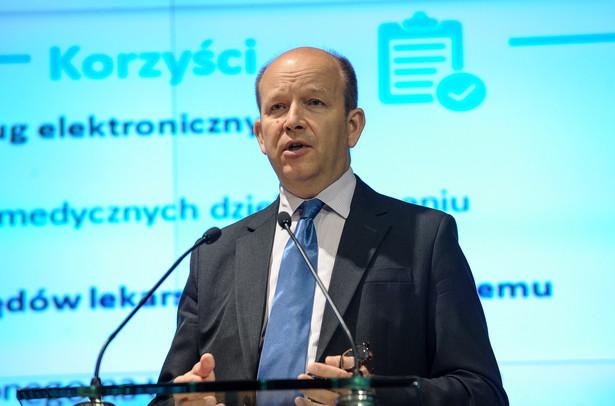 Konstanty Radziwiłł wrócił do pomysłu wprowadzenia kompleksowej strategii walki z rakiem.