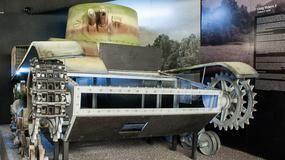 Czołg Vickers zrekonstruowany w krakowskim Muzeum AK