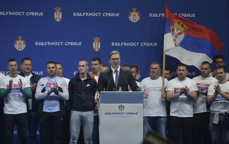 SNS miting Aleksandar Vučić Tanjug Rade Prelić