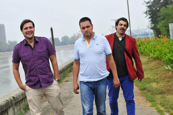Dejan, Dimitrije i Nikola