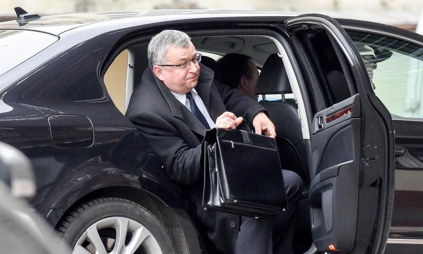 Minister Adamczyk: Mam czyste sumienie