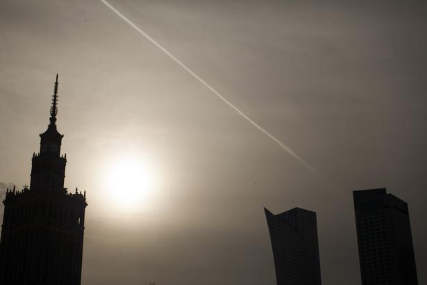 Warszawa, widok na PKiN