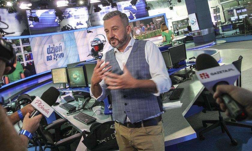 Krzysztof Skórzyński znika z anteny TVN24.