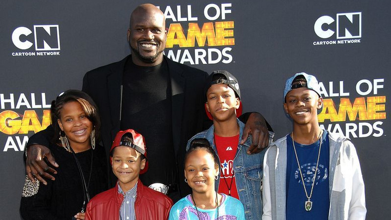 Shaquille O'Neal i dzieci