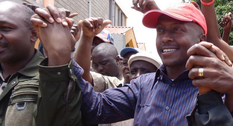 Former Tetu MP James Gethenji