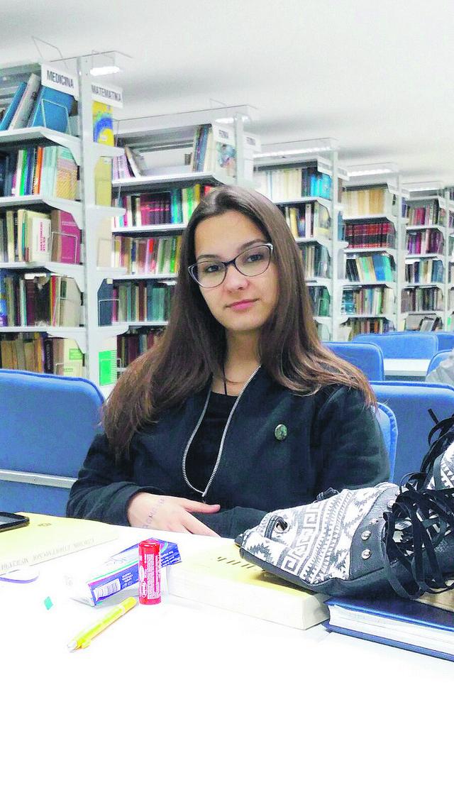 Milica Pešić u Istraživačkoj stanici Petnica