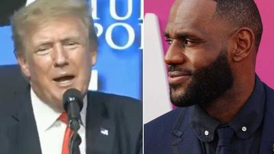 Donald Trump bizarrely mused about how LeBron James could get sex reassignment surgery to compete in women's sports, video shows