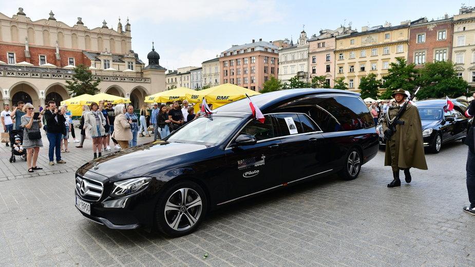 Uroczystości pogrzebowe Żołnierzy Wyklętych