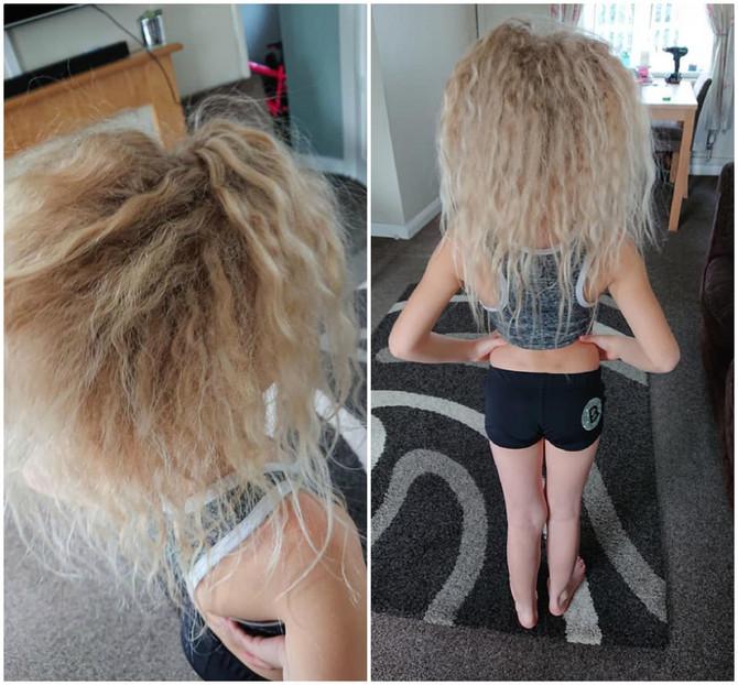 Kaže da joj ćerku često nazivaju trolom zbog nemirne kose