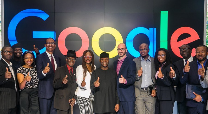 Google: 'Osinbajo is the reason why we are investing in Nigeria'
