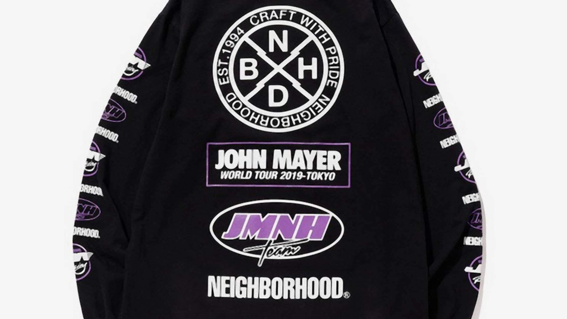 John Mayer bringt Tour-Merch mit Neighbourhood