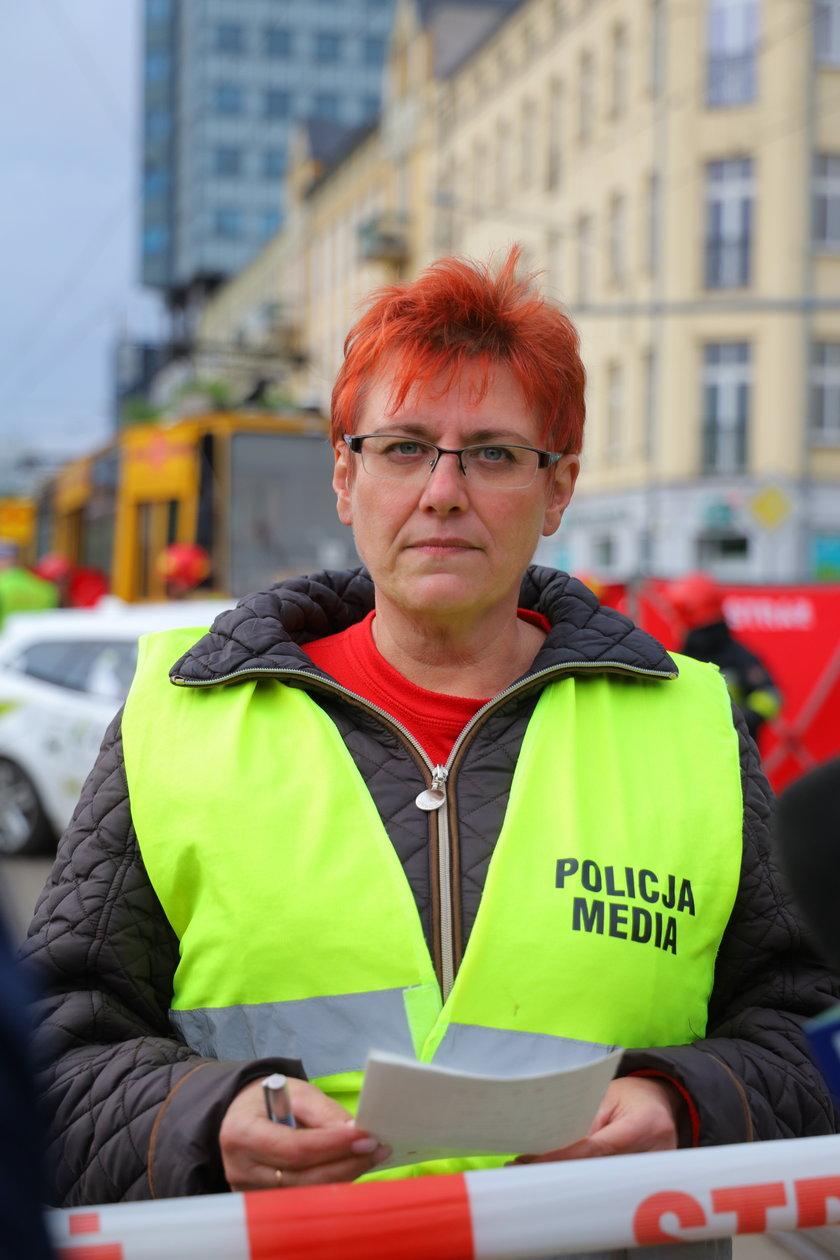Marzanna Boratyńska KMP w Łodzi