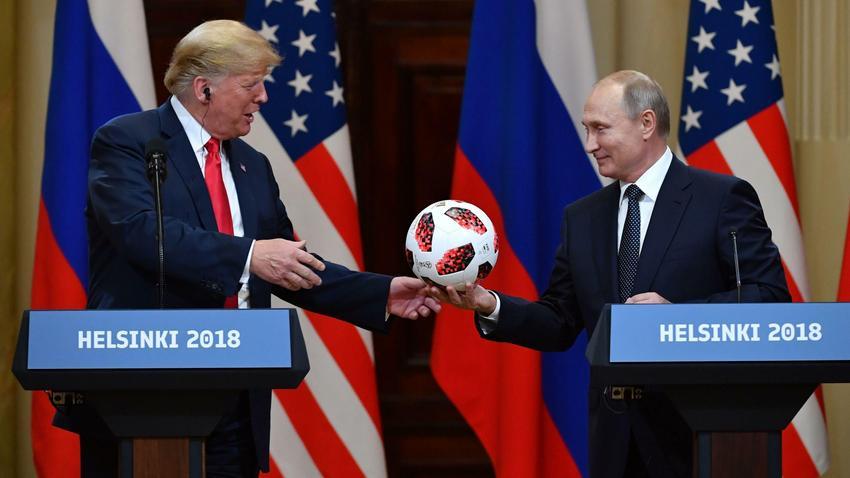 Donald Trump og Vladimir Putin