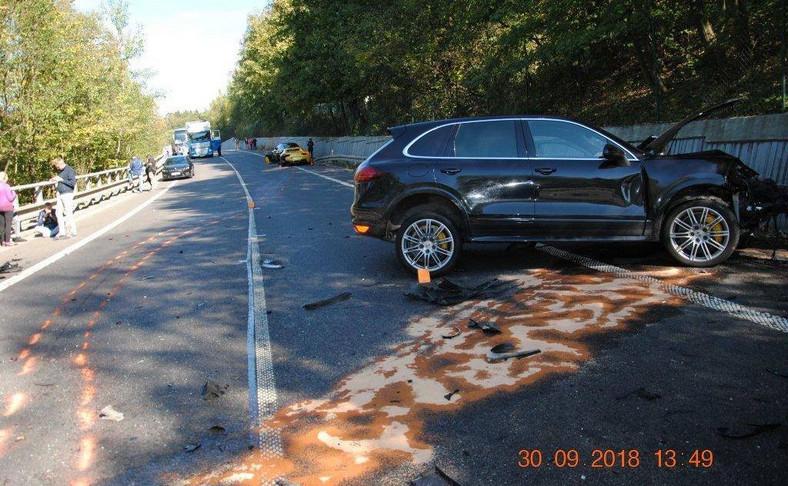 W wypadku zginął kierowca Skody