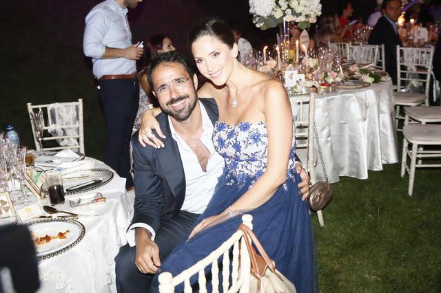 Jelena Bin Drai sa mužem