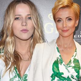 Jessica Mercedes i Katarzyna Zielińska w takim samych kreacjach. Która z nich wyglądała lepiej?