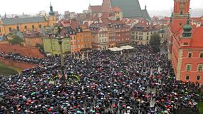Ogólnopolski Strajk Kobiet. Organizatorzy: odbędzie się w ponad stu miastach