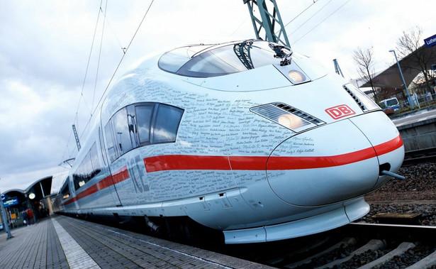 Pociąg dużych prędkości ICE