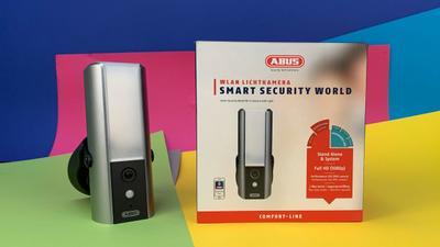Abus Lichtkamera mit WLAN, App und Alarm im Test