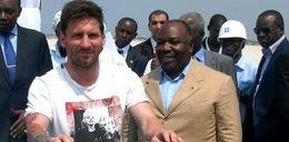 W Gabonie skradziono... kamienie węgielne Messiego i prezydenta kraju