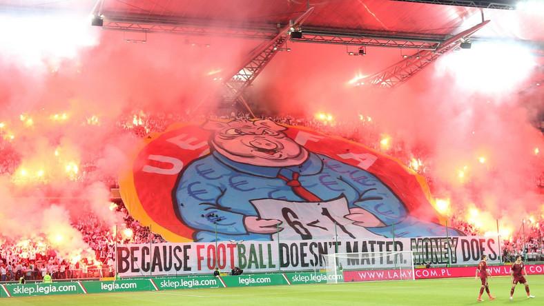 UEFA ukarał Legię