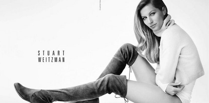 Gisele Bundchen reklamuje buty