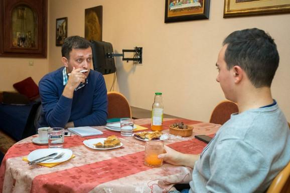 Vojislav Gligorovski i Nenad Blagojevic intervju za Price sa dušom