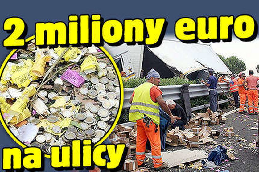 2 miliony euro na ulicy