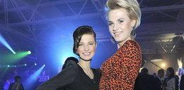 Michalina Manios i Gabriela Pacholarz na imprezie Playboya