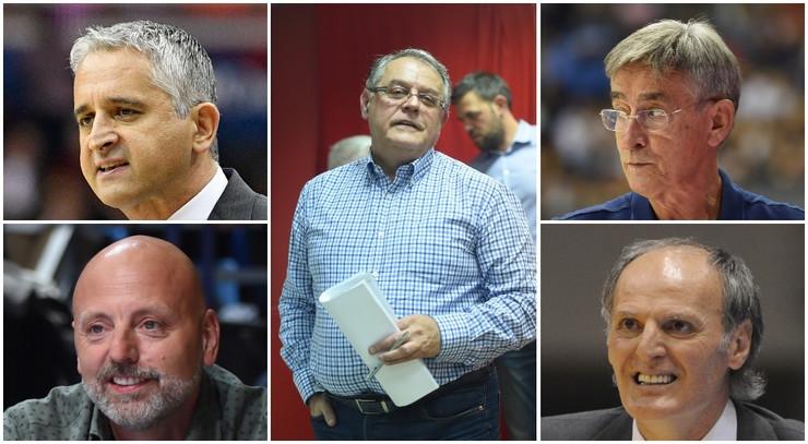 Nebojša Čović i treneri