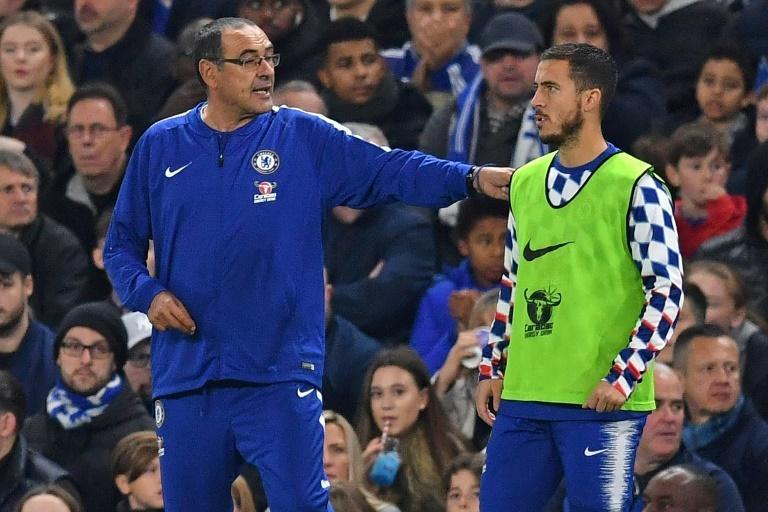 Eden Hazard's possible departure is a reason Chelsea are considering replacing Sarri with Zidane
