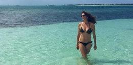 Egzotyczne wakacje Cindy Crawford. Co za ciało!