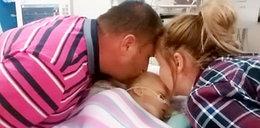 Po tym pocałunku nasza córeczka ożyła