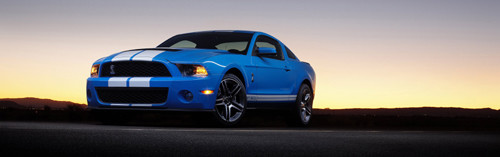Ford Shelby GT500 - Dumny Mustang