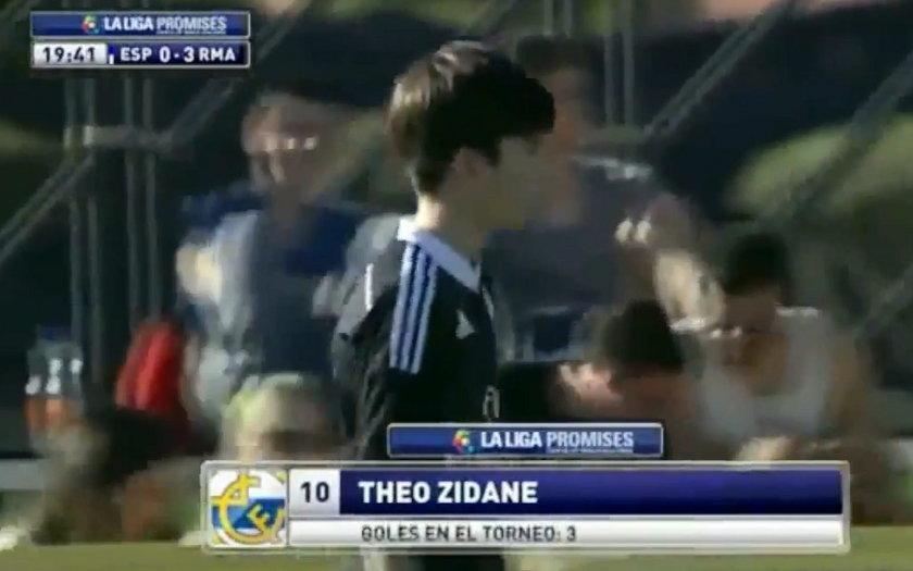 Najmłodszy syn Zidane'a już zachwyca!