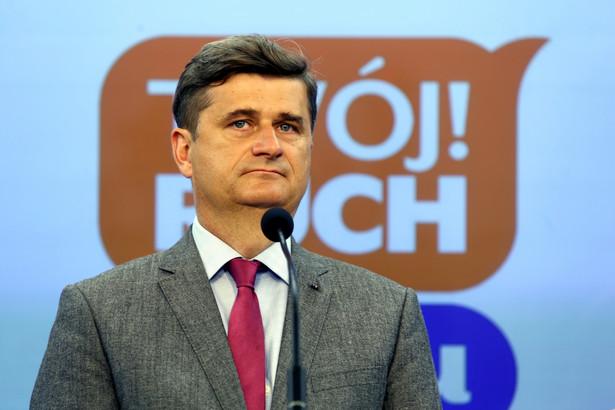 Janusz Palikot PAP/Tomasz Gzell