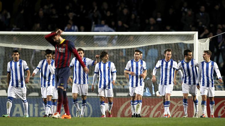 Barcelona przegrała z Realem Sociedad