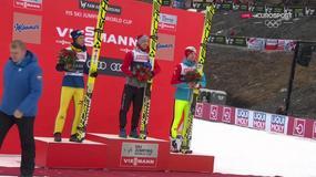 Kamil Stoch na najwyższym stopniu podium