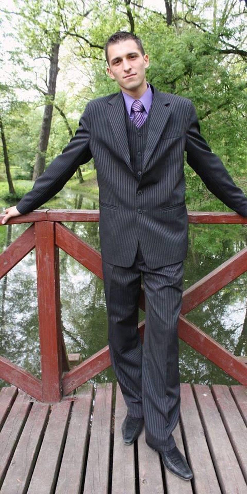 Rafał Maślak w 2010 r.