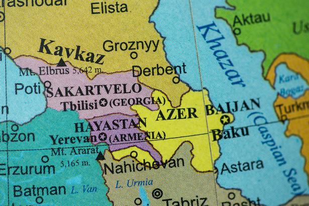 Kraje Kaukazu. Azerbejdżan, Armenia, Gruzja