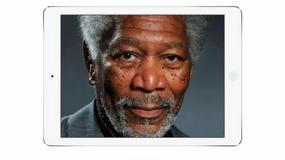 Niezwykły portret Morgana Freemana na iPadzie