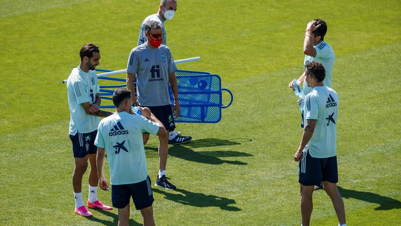 Trening reprezentacji Hiszpanii