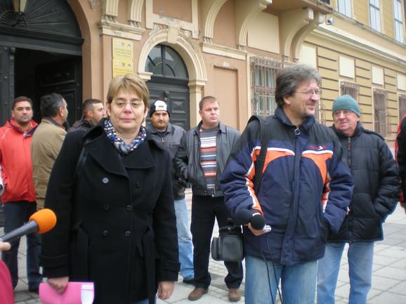 Ivana Dulić Marković (levo)
