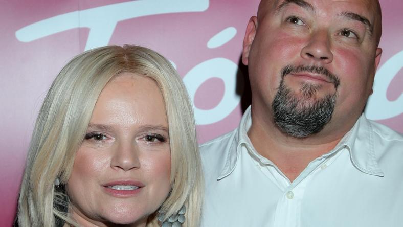 Katarzyna Figura z mężem Kaiem Schoenhalsem / fot. MW Media