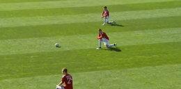 Piłkarze na kolanach. Tak protestowali przeciwko niewypłacaniu im pensji!