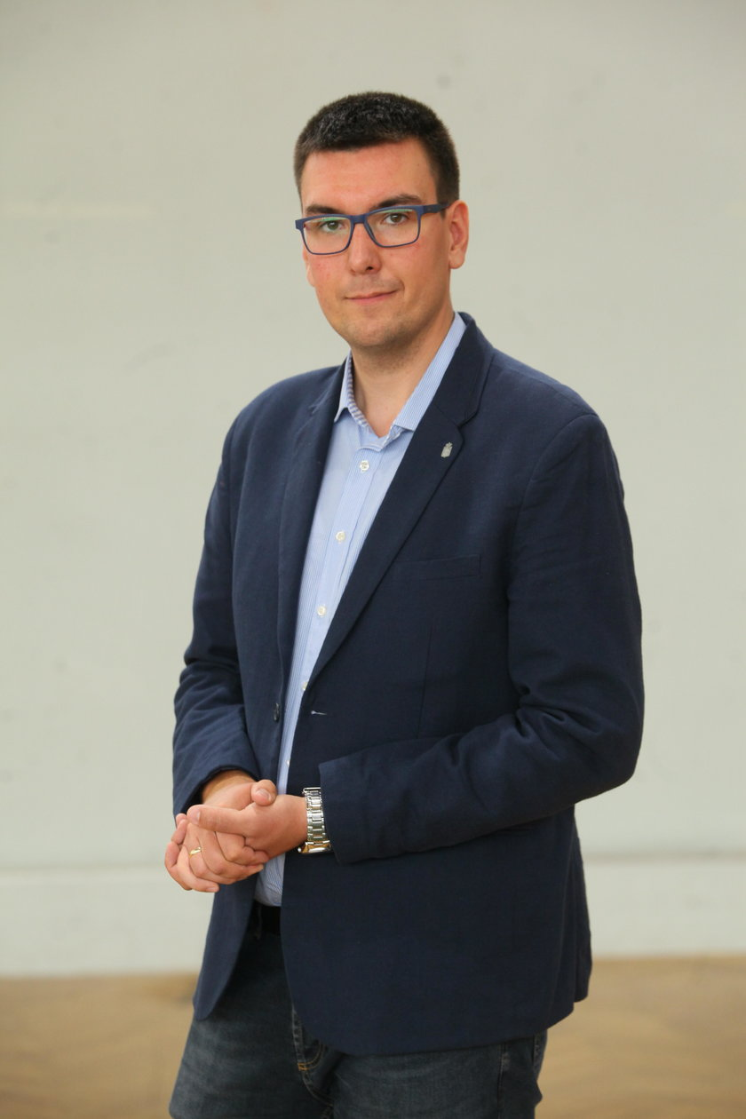 Tomasz Demiańczuk z Ratusza