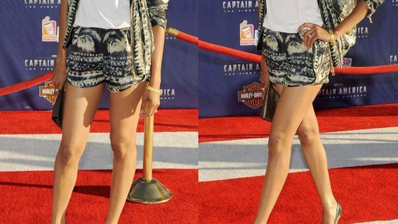Elegancja w… szortach? Hollywoodzka gwiazda pokazuje nogi